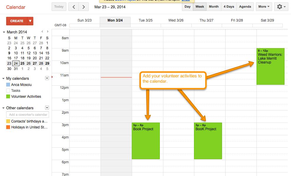 Google Apps Free Tools For Volunteer Management Track